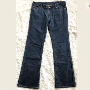 Michael Kors Dark Wash, Bootcut Jeans